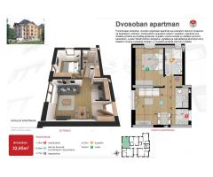 Apartman 32,65m2 - blizu centra