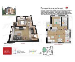Apartman 38,37m2 - blizu centra