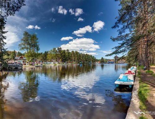 Рибничко озеро,Водопад в селе Гостилье