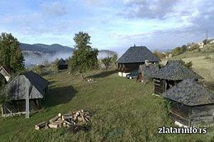 Milkina Ravan - Uvačko jezero